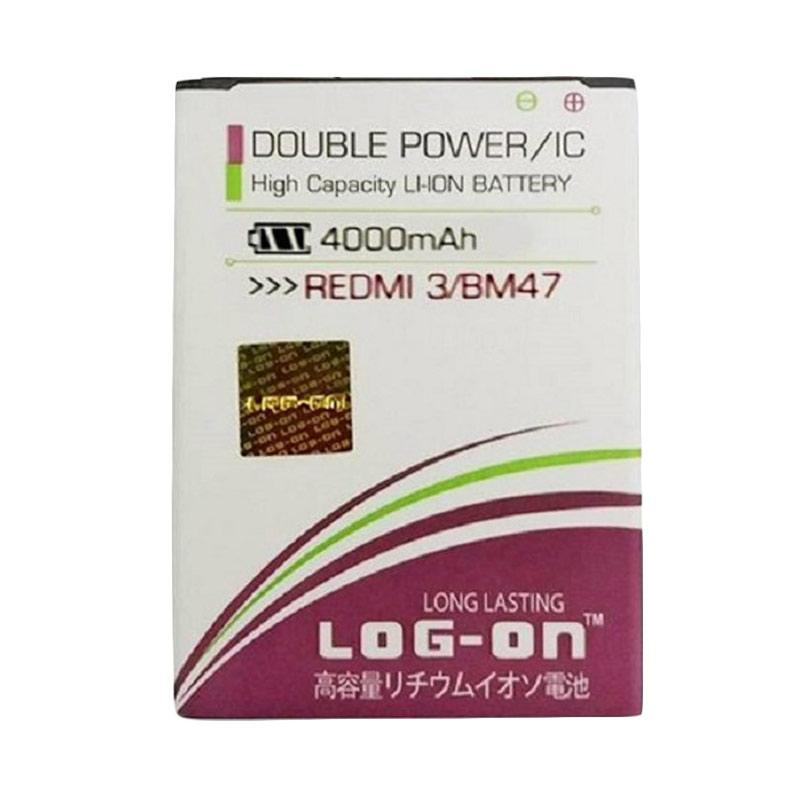Log On Double Power Batery for Xiaomi Redmi 3 [4000 mAh]