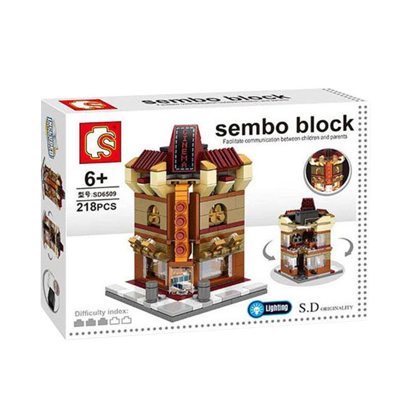 Sembo Sd6509 Cinema Blocks & Stacking Toys