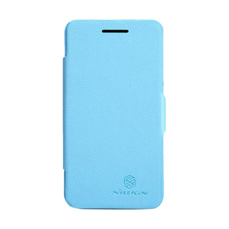 Nillkin Fresh Flip Cover Casing for BB Z10 - Blue