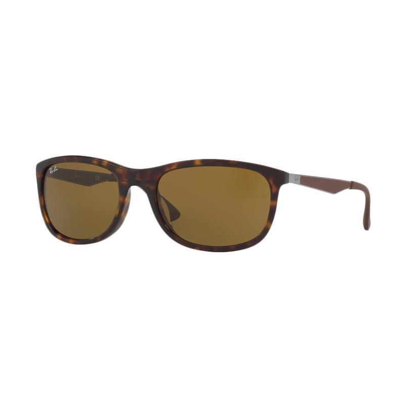 Ray-Ban 902/73 Rb4267F Sunglasses - Havana [Size 59 / Brown]