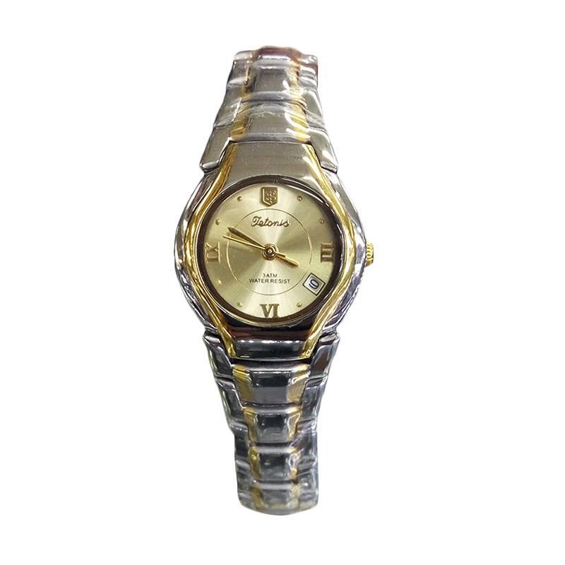 Tetonis T951G Jam Tangan Wanita - Silver Gold