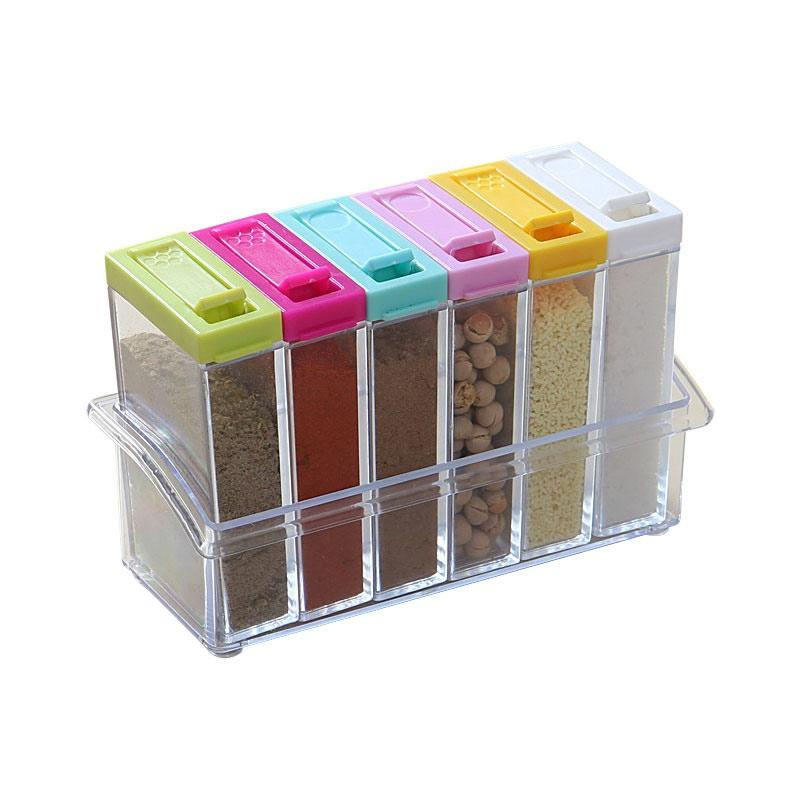 28Fashion Seasoning Box6 in 1 Set Kotak Bumbu Dapur