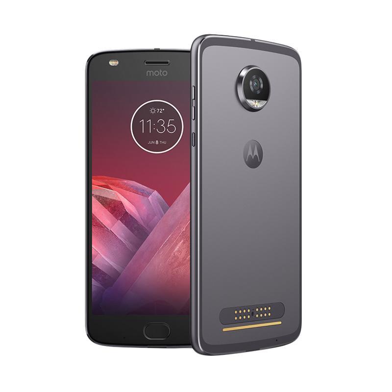 Motorola Moto Z2 Play Smartphone - Black [64GB/4GB]