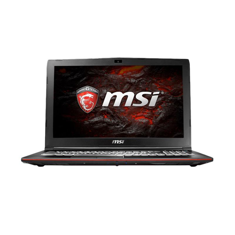 MSI GP62MVR-7RFX Leopard Pro Gaming Laptop - Hitam [Intel Core i7-7700HQ/16GB/256GB + 1TB/Windows 10 Home/15.6 Inch]