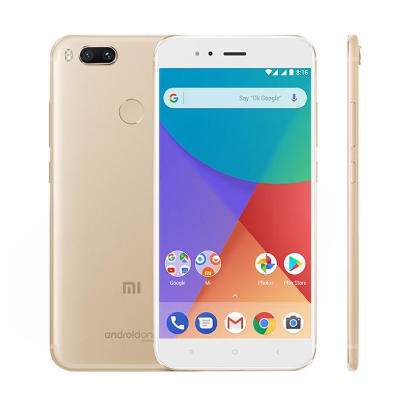Xiaomi Mi A1 Smartphone - Gold [64GB/4GB] 3