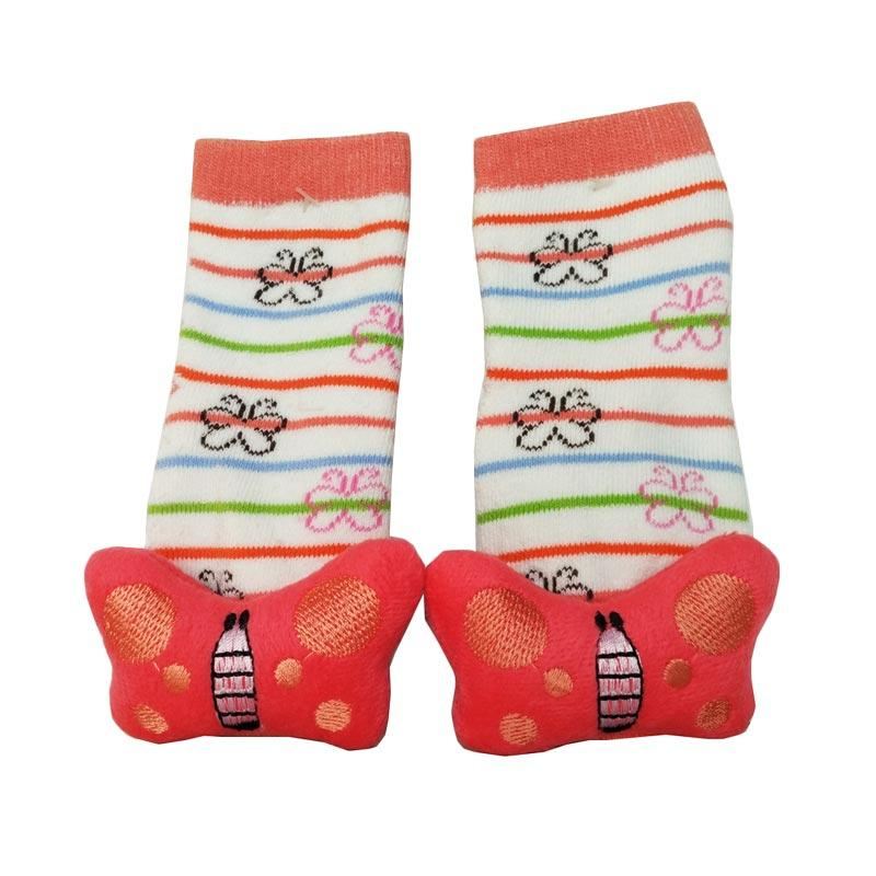 Baby Socks Animal E Rattle Kaos Kaki Bayi