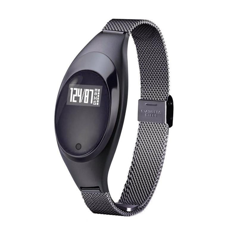 harga SOXY Z18 CC0407A Smart Band with Blood Oxygen Ladies Smartwatch - Black [Heart Rate Monitor] Blibli.com