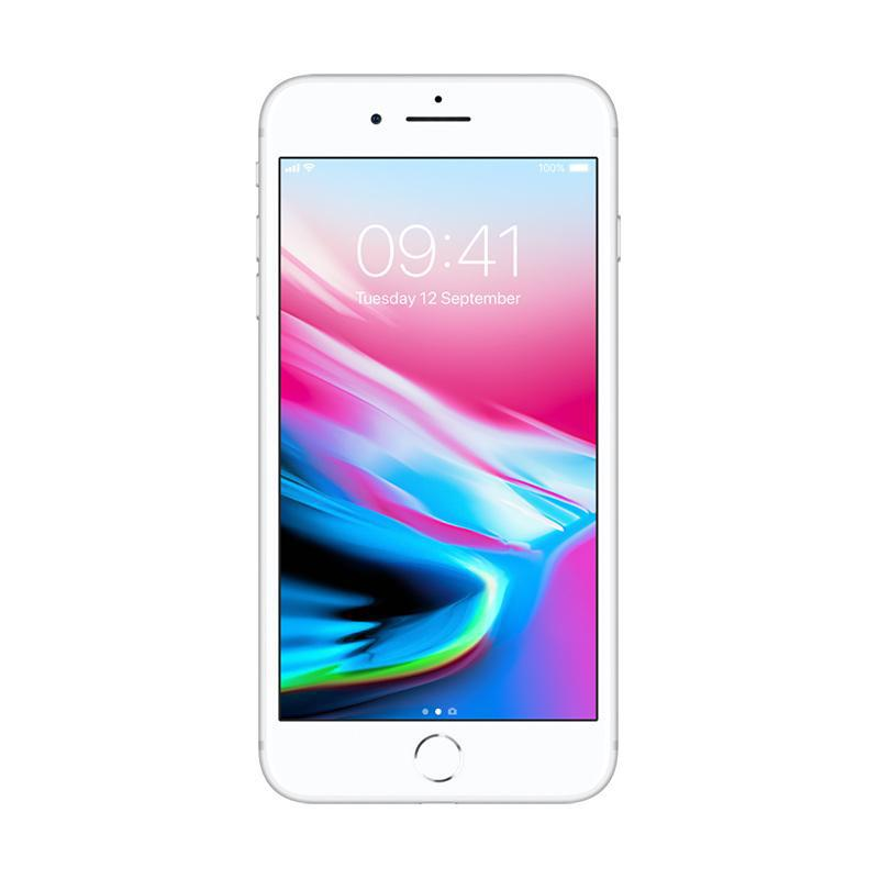 Apple iPhone 8 Plus 256 GB Smartphone - Silver [Garansi Resmi TAM]
