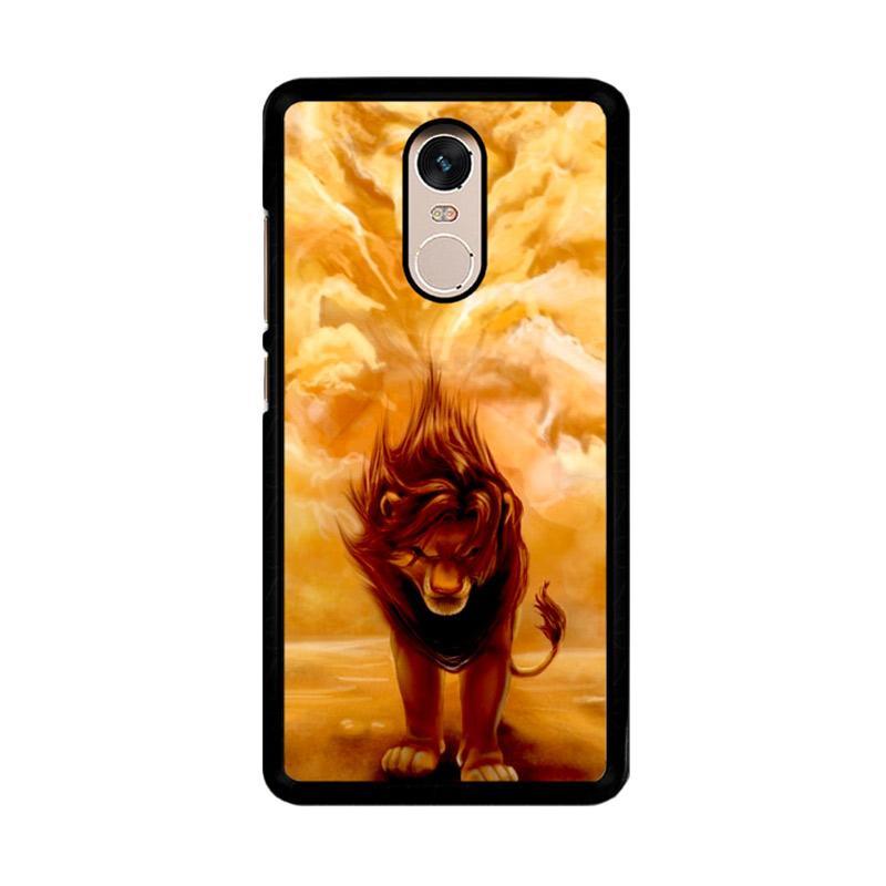 Flazzstore Disney Lion King Z0074 Custom Casing for Xiaomi Redmi Note 4 or Note 4X Snapdragon Mediatek