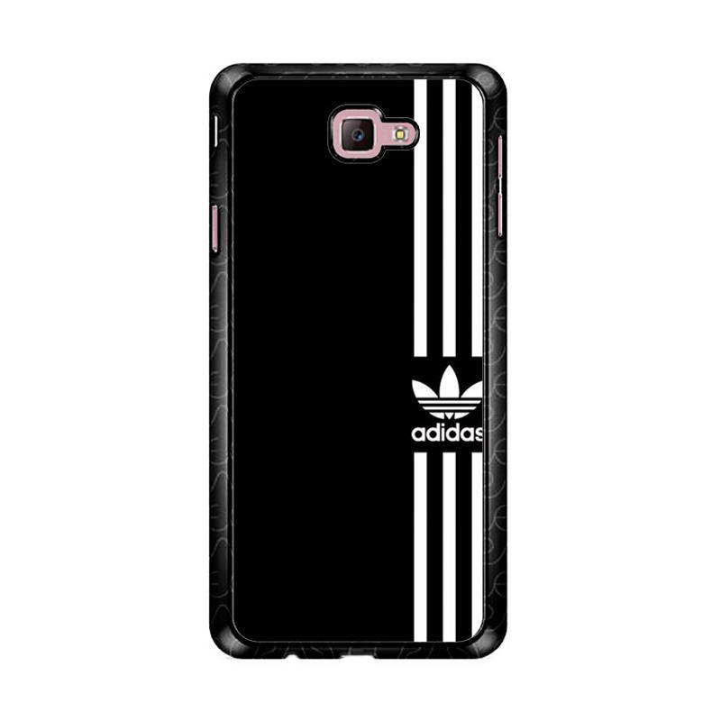 Flazzstore Adidas Logo Black White Z4002 Custom Casing for Samsung Galaxy J7 Prime