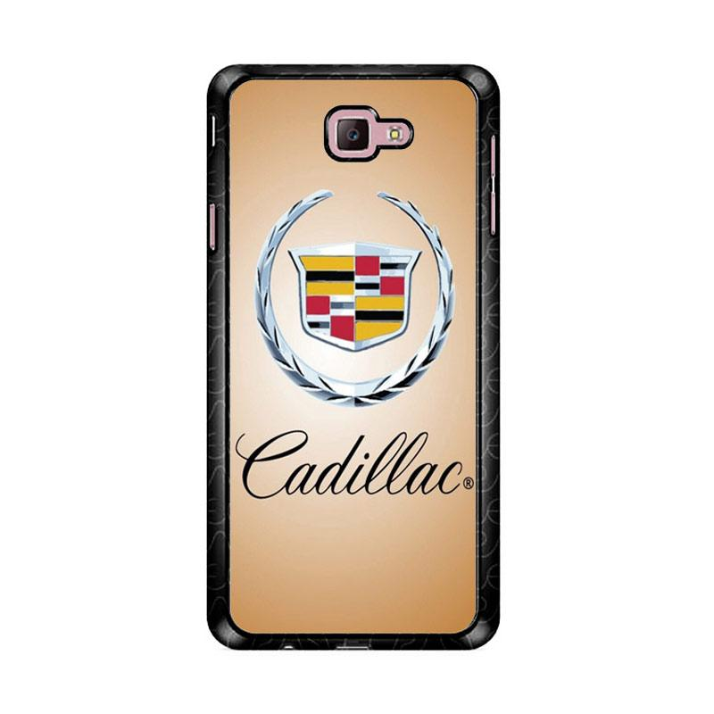 Flazzstore Cadillac Logo Z4352 Custom Casing for Samsung Galaxy J7 Prime