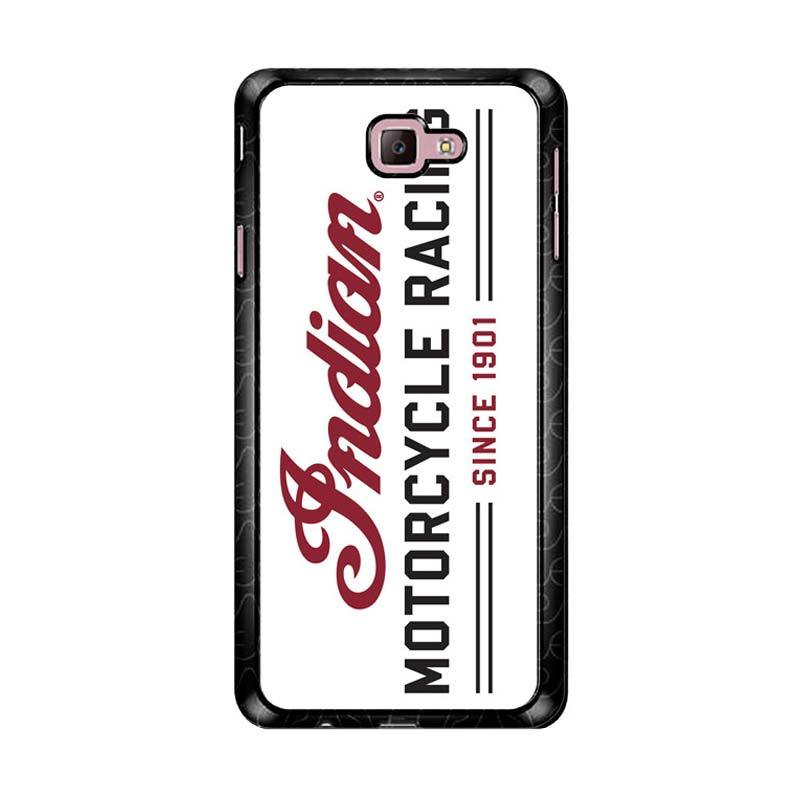 Flazzstore Indian Motorcycle Z4727 Custom Casing for Samsung Galaxy J7 Prime