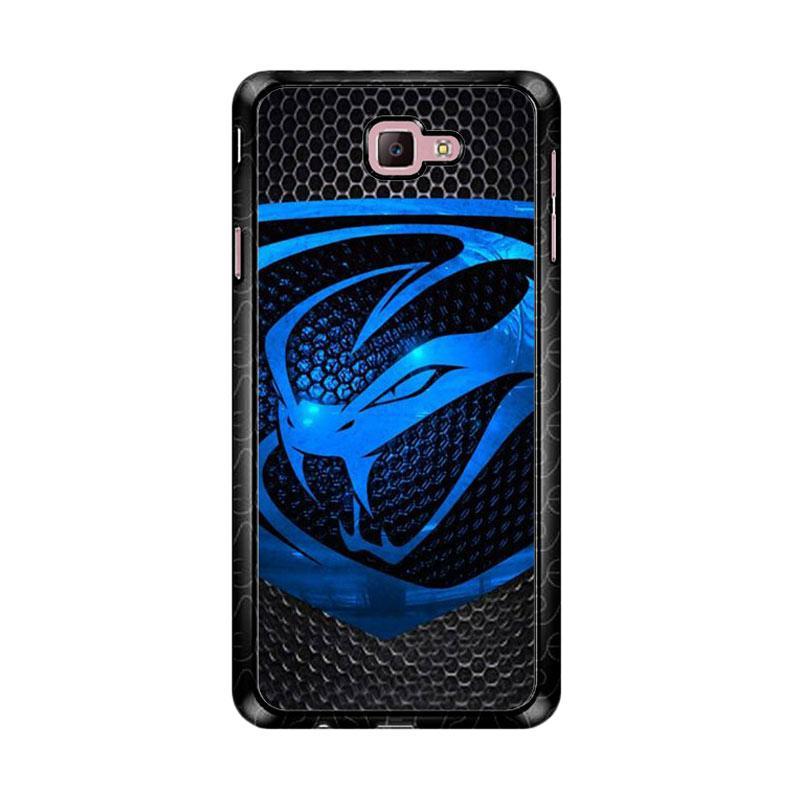 Flazzstore Dodge Viper Logo Carbon Z4757 Custom Casing for Samsung Galaxy J7 Prime