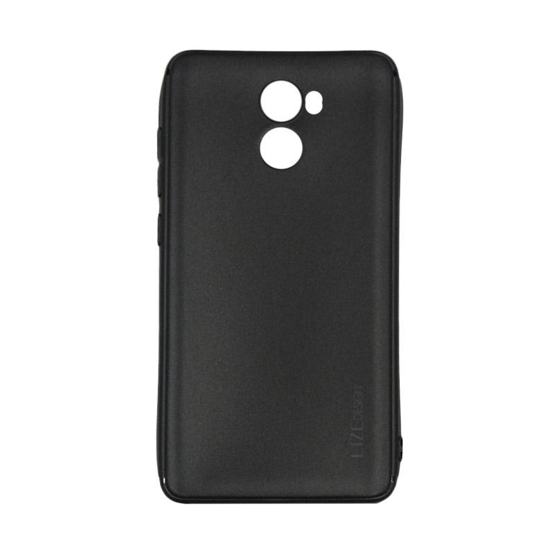 Lize Design Case Slim Anti Glare Silikon Casing for Xiaomi Redmi 4 - Hitam