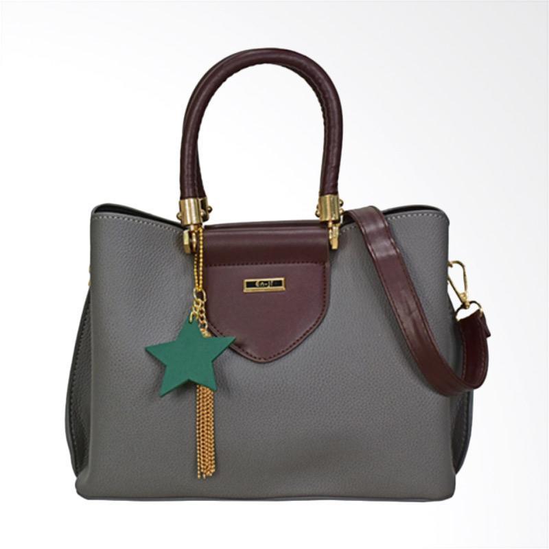 En-ji By Palomino Venus Handbag - Grey
