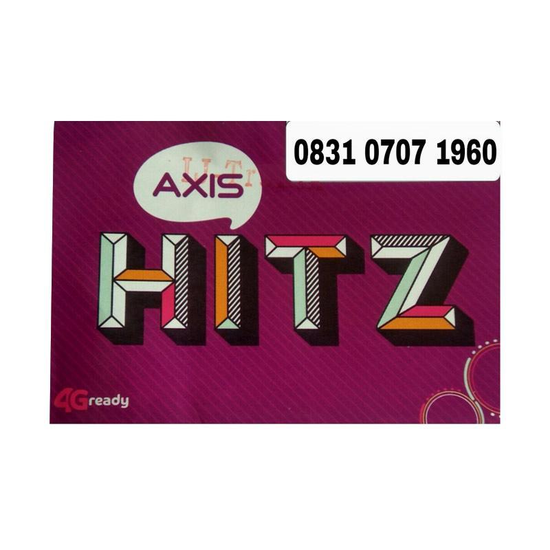 Axis Nomor Cantik Seri Tahun 0831 0707 1960 Kartu Perdana