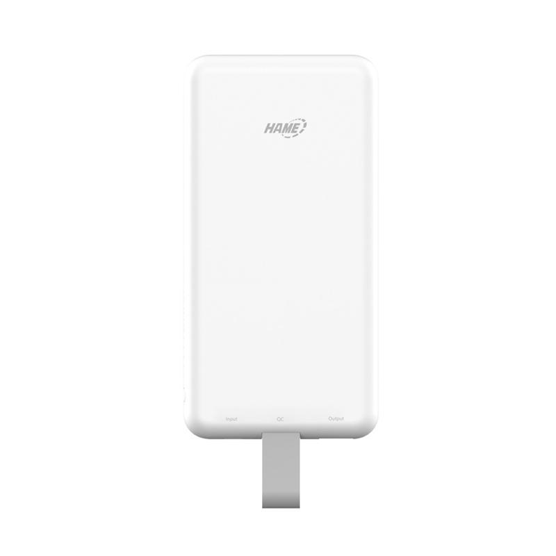 Hame P1-QC3 Built-in Micro USB QC3 Cable Powerbank [8000 mAh]