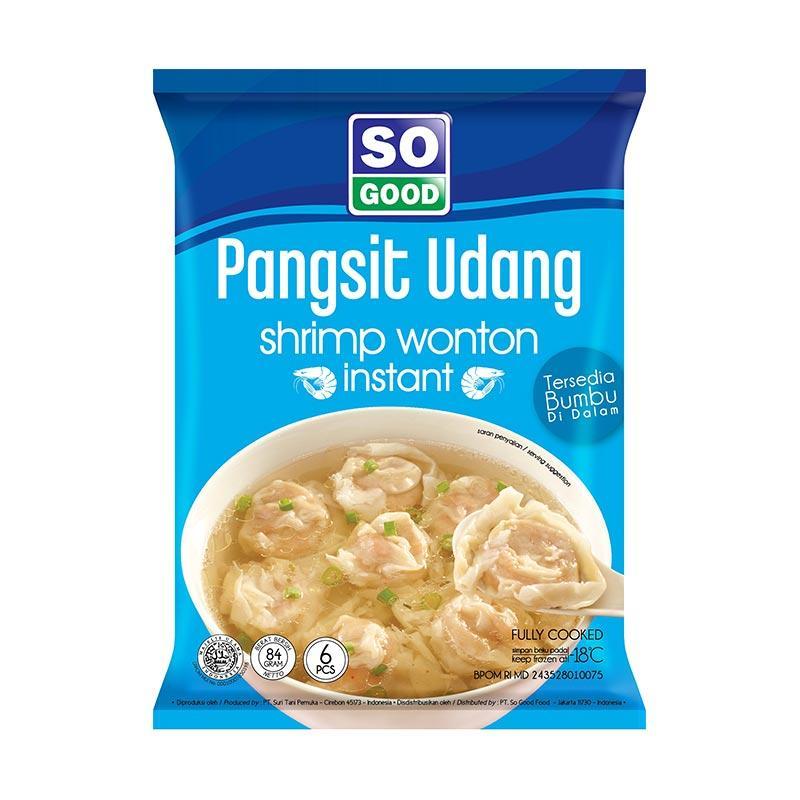 So Good Pangsit Udang Makanan Instan [84 gr]