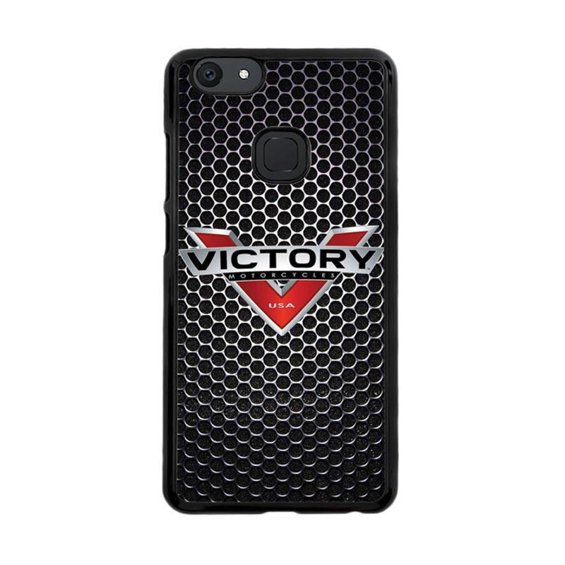 Flazzstore Victory Motorcycle Logo Z3877 Custom Casing for Vivo V7
