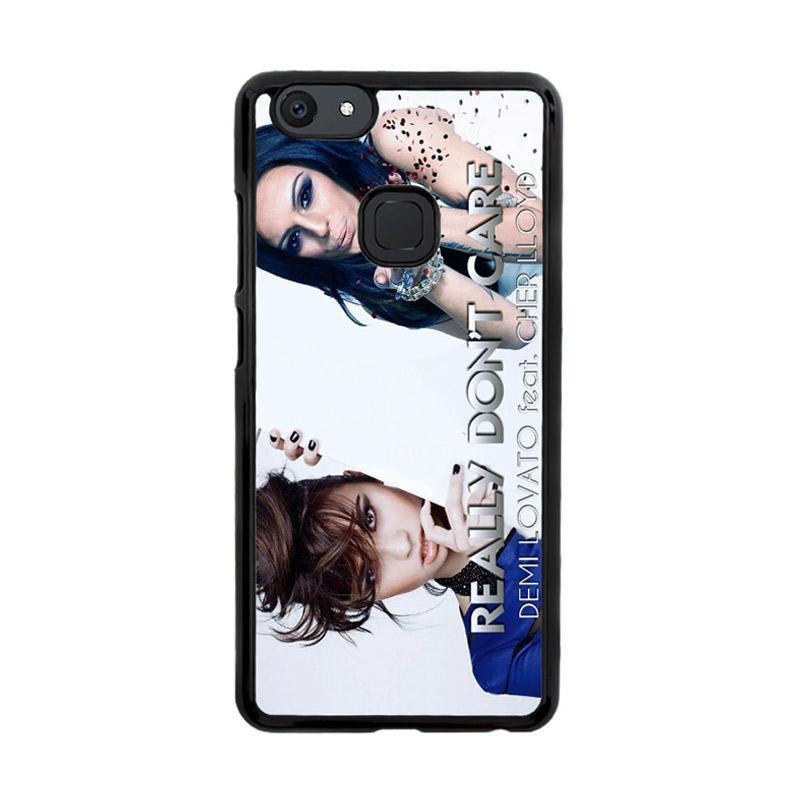 Flazzstore Demi Lovato Feat Cher Lloyd  Really Dont Care Z0129 Custom Casing for Vivo V7