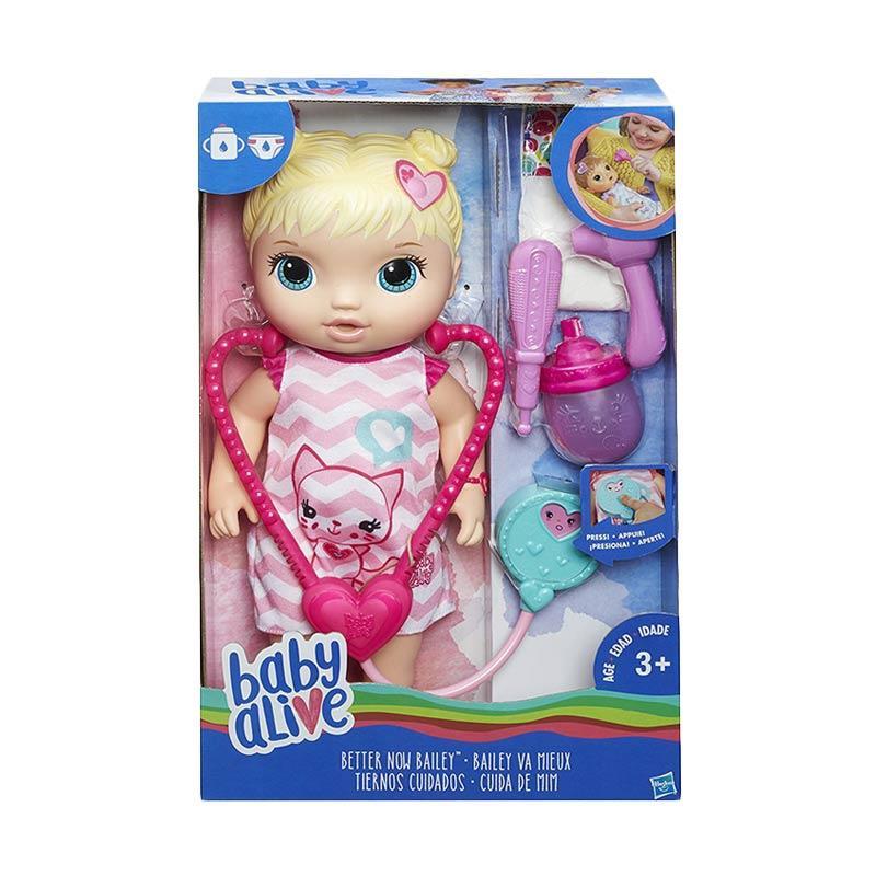 harga Baby Alive C2691 Better Now Bailey Blonde Doll Mainan Anak Blibli.com