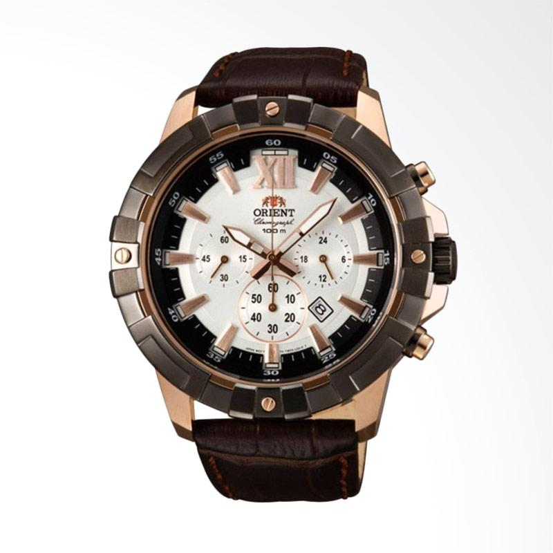 Orient Sport Chronograph Bambino Jam Tangan Pria [FTW03003W]