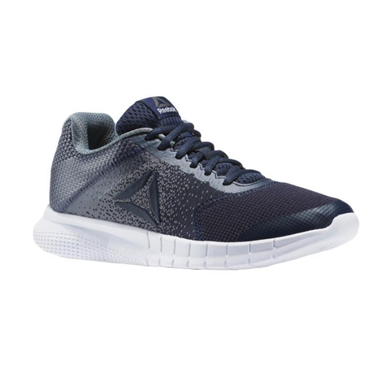 Reebok Print Lite Running M Shoes Sepatu Olahraga Wanita - Navy [BS8481]