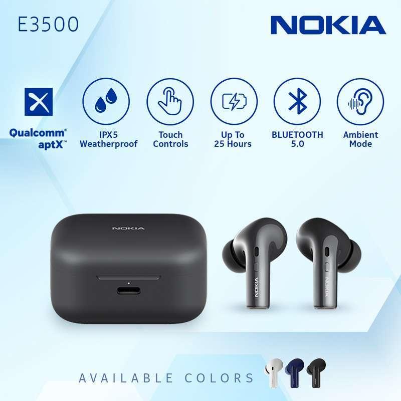 Nokia True Wireless TWS Earphone E3500 - Black