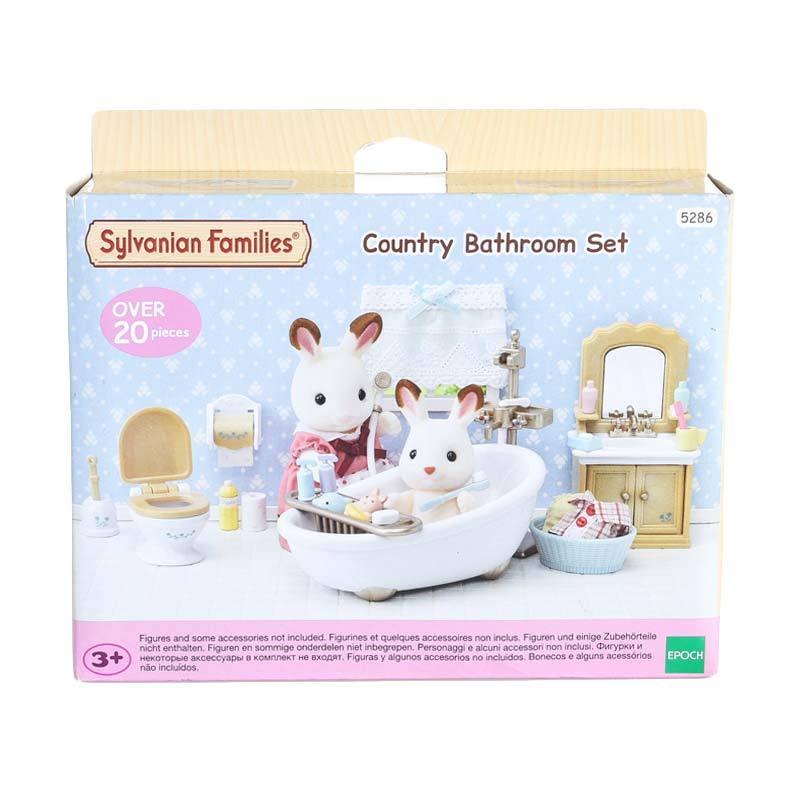 harga Sylvanian Families Country Bathroom Set Mainan Anak Blibli.com