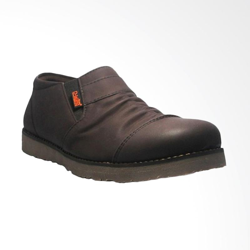 Jual D-Island Shoes Low Boots Wrinkle Leather Sepatu Slip On Pria - Dark  Brown Online - Harga   Kualitas Terjamin  19d5be3f7e
