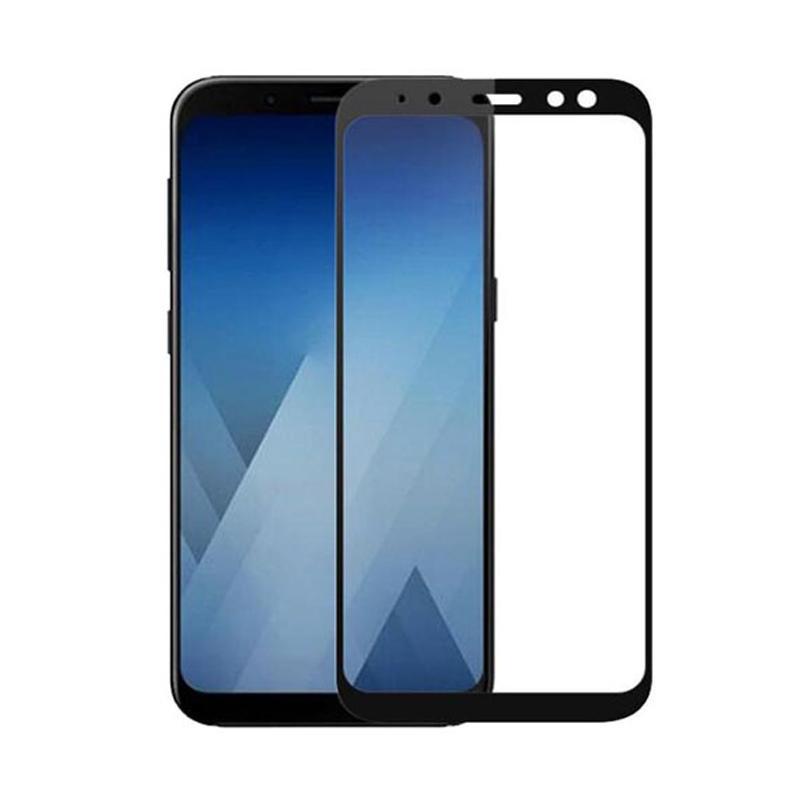 harga Grace Premium Tempered Glass Screen Protector for Samsung Galaxy A6 2018 5.6 Inch - Lis Hitam [Full Cover/ Full Glue] Blibli.com