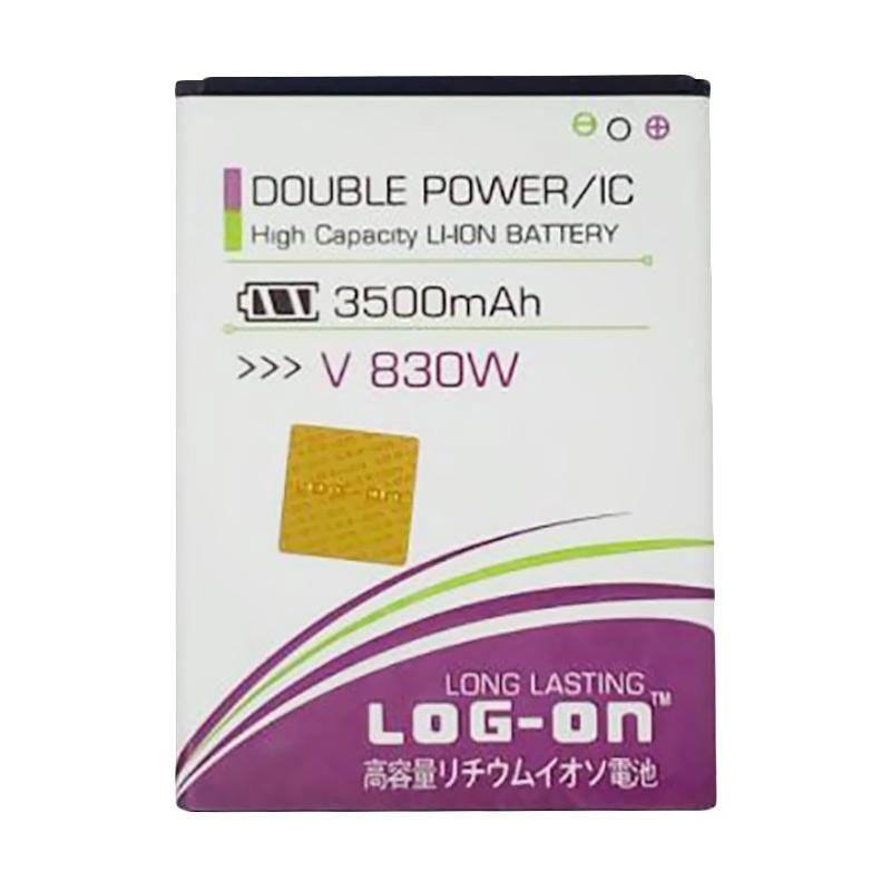 harga Log On Double Power Battery for ZTE BLADE G LUX V830W [3500 mAh] Blibli.com