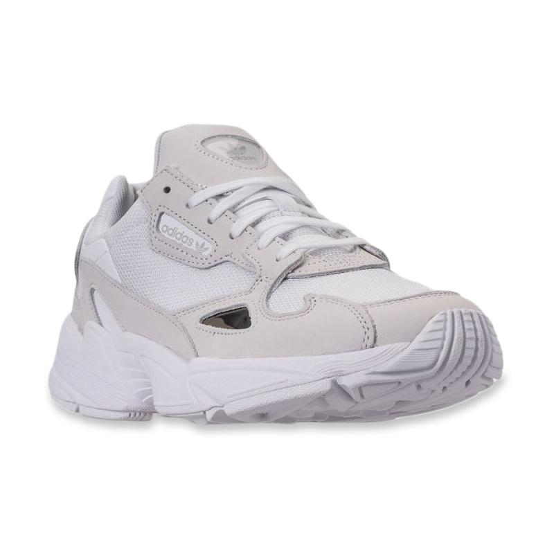3058be8ad61 Jual Sneakers Original Adidas Falcon Suede - White - Black Terbaru ...