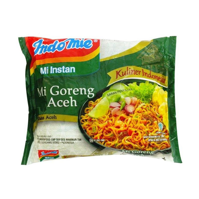 Jual Indofood Mie Goreng Aceh Mie Instan Online Maret 2021 Blibli