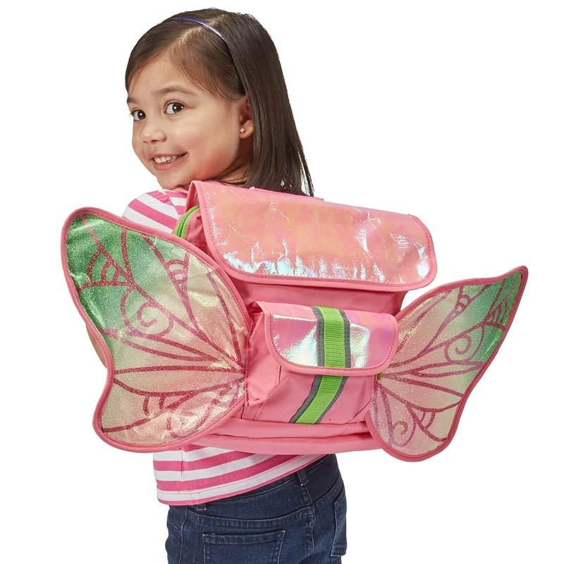 Bixbee LED Fairy Flyer Kids Backpack