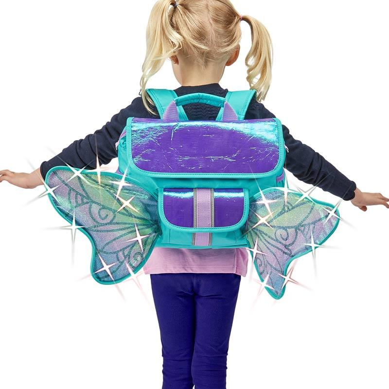 Bixbee LED Forest Pixie Flyer Kids Backpack