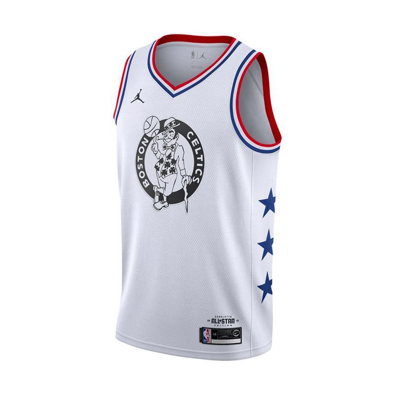 Nike Men Basketball Kyrie Irving Swingmen All Star Jersey White 19 AQ7297 105