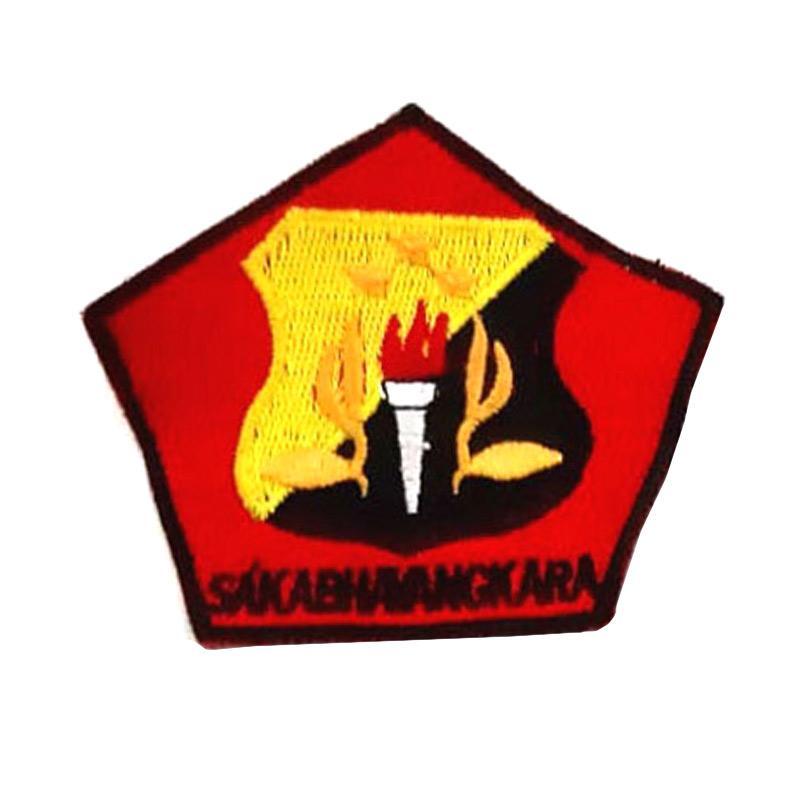 Flag And Emblem >> Mulyocreative Pramuka Logo Saka Bhayangkara Emblem Patch Bordir