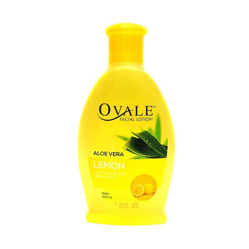OVALE Lemon Pembersih Muka [200 mL]
