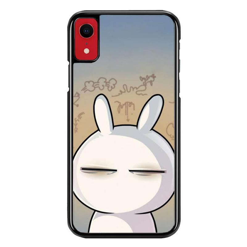 bunnycase casing iphone xr custom hardcase hp cartoon character flat wallpaper l0485 full01