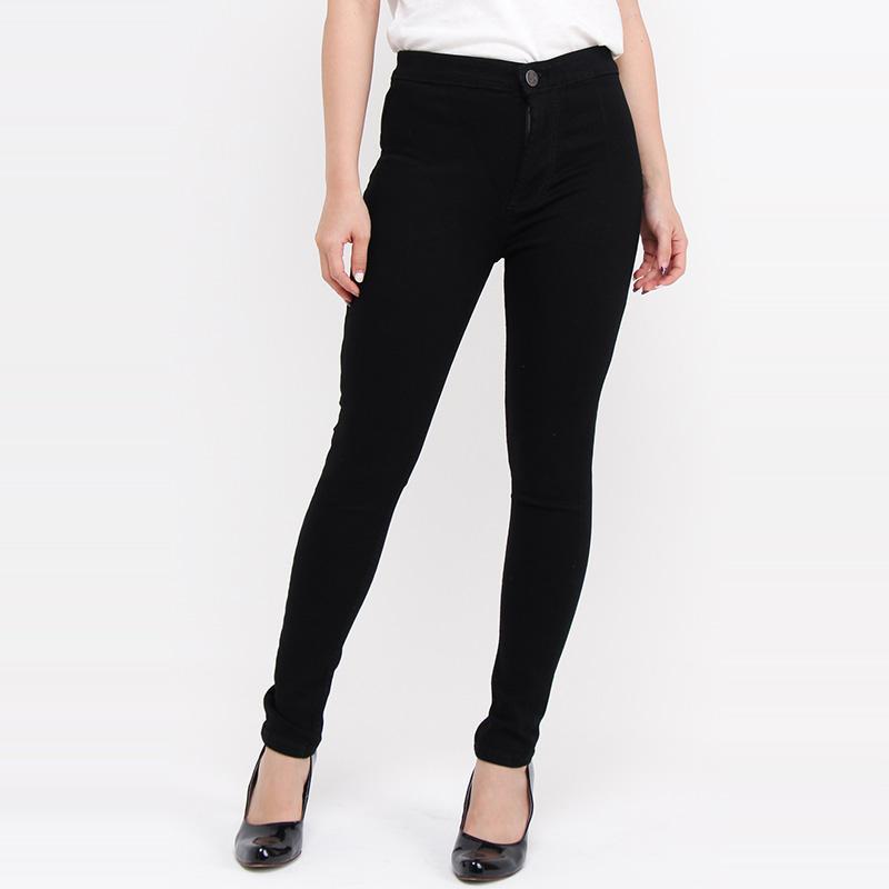 Jual Jsk Jeans Highwaist Skinny High Rise Celana Jeans Wanita Hitam Online November 2020 Blibli