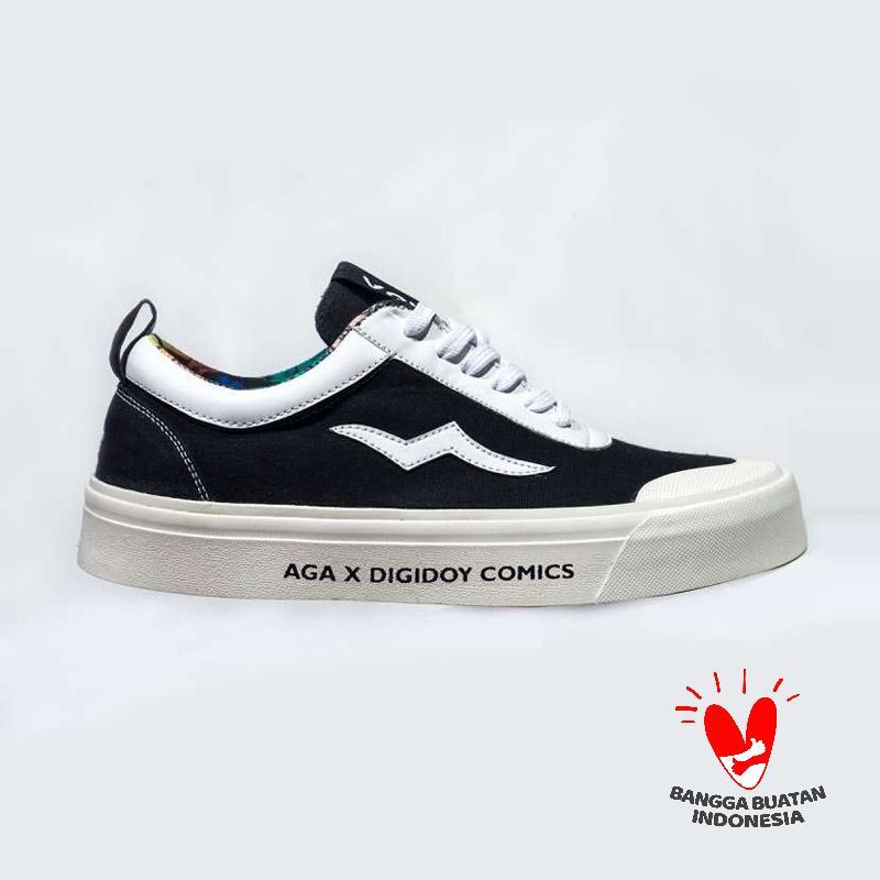 Digidoy AGA x Digidoy Comics Old Six Sneaker Pria