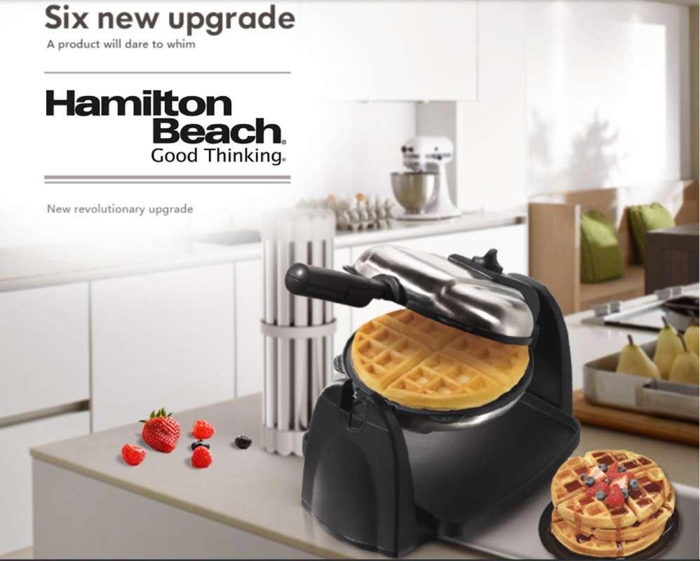 Hamilton Beach Waffle Maker Mesin Wafel Silver Terbaru Agustus 2021 Harga Murah Kualitas Terjamin Blibli