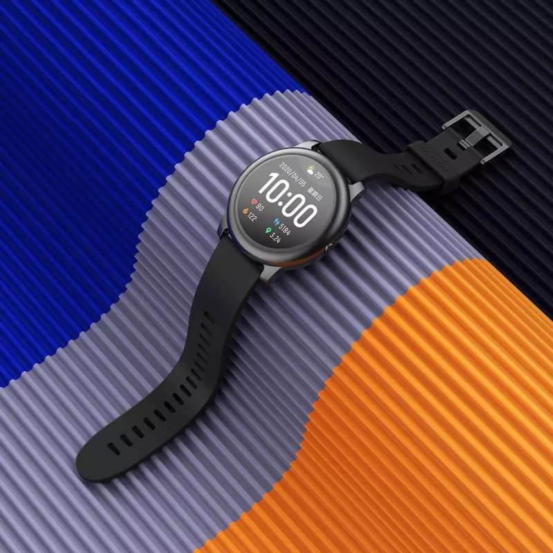 Xiaomi Youpin LS05 Haylou Solar Smart Watch - Black [Global Edition/ 12 Sport Modes/ 15day Battery Life]