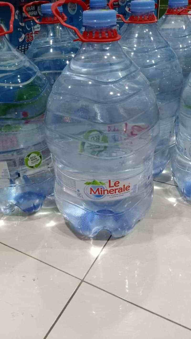 Jual Le Minerale Galon 15 L Leminerale Galon 15 Liter Online Februari 2021 Blibli