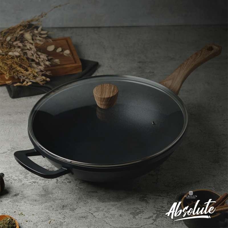 DEBELLIN Absolute Asian Wok Black 32 cm
