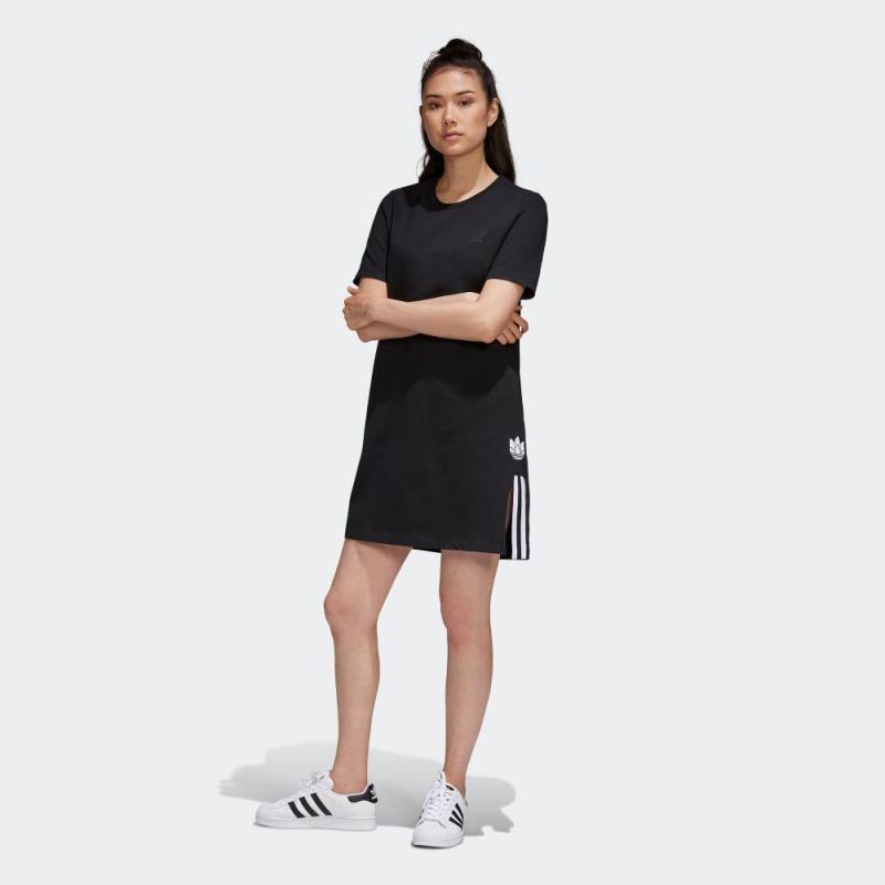 adidas Tee Originals Dress Atasan Olahraga Wanita GM6766