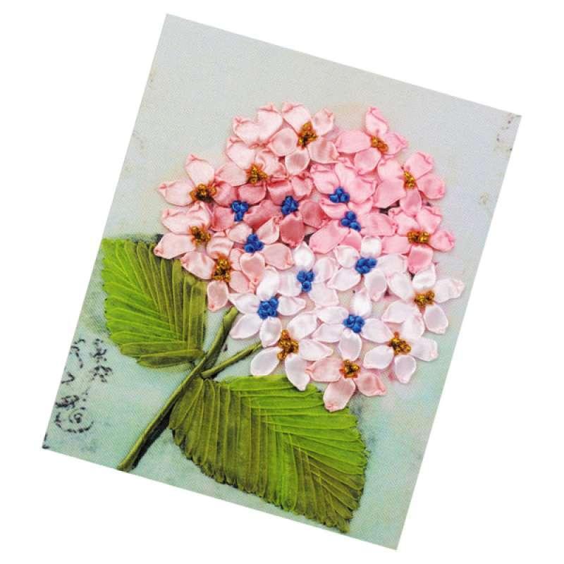 Jual Diy Ribbon Embroidery Kits Handmade Pink Tone Home Decor Wall Art Craft Online Maret 2021 Blibli