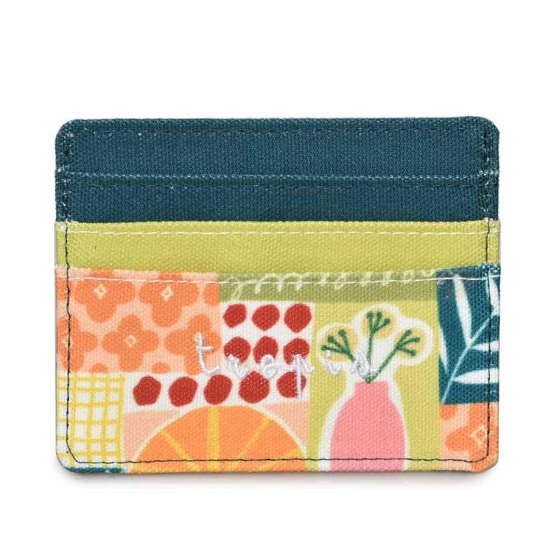 Tropis Studio Trop13 Sunrise Floret Card Holder Accessories Wanita Orange
