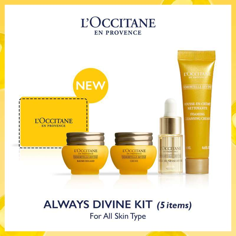 L Occitane Always Divine Kit Perawatan Kulit